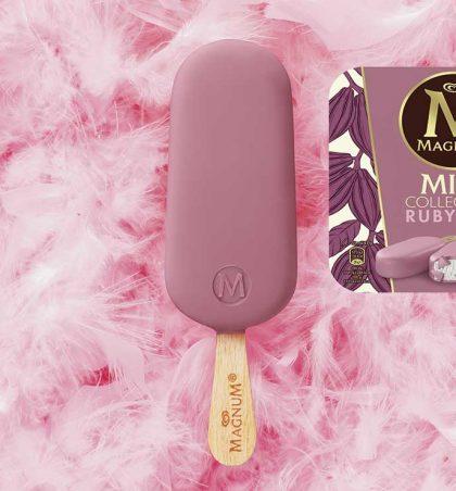 Nouveau Magnum Ruby au chocolat rose