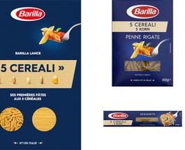 « 5 Cereali » : les pâtes multi-céréales de Barilla