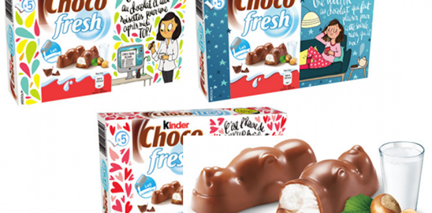 Une édition collector Choco fresh signée Mathou