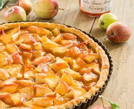 Tarte aux pommes à la Gelée de Coings Bonne Maman