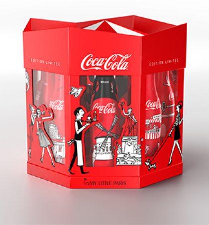 Coca cola, les iconiques bouteilles de l'été