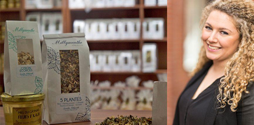 Victoria Renaud-Foughali, Millymenthe : « nous souhaitons être le « Starbucks » de la tisane »