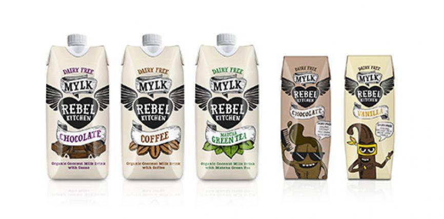 Les laits de coco bio de Rebel Kitchen