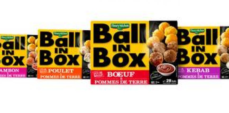 Ball in box  by Fleury Michon