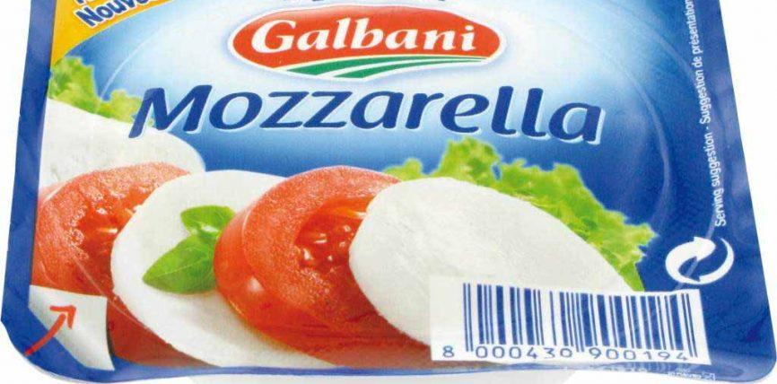 Mozzarella en sachet fraîcheur