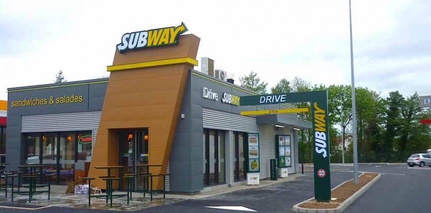 Un nouveau drive pour Subway