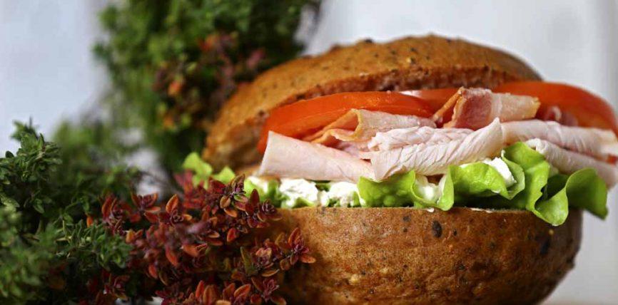 Un sandwich sans gluten