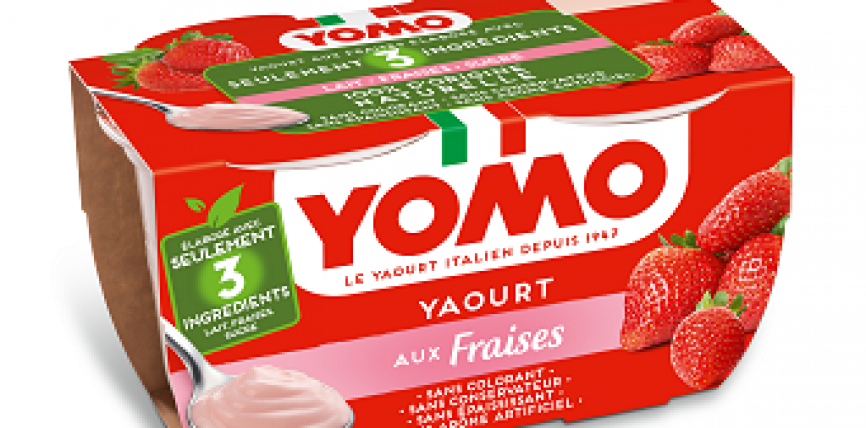 Yomo , le yaourt made in Italie