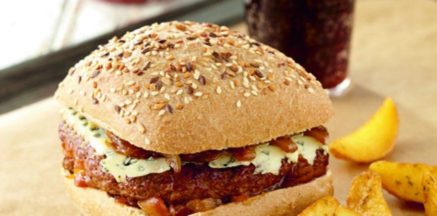 Le Carré Burger Graines Intenses de Délifrance, lauréat des Snacking d'Or 2015